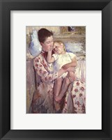 Framed Mother & Child