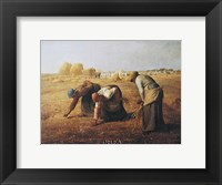 Gleaners Framed Print