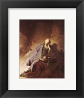 Framed Prophet Jeremiah