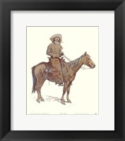 Framed Arizona Cowboy