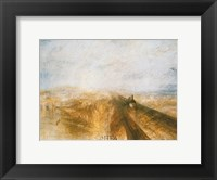 Rain, Steam and Speed Framed Print
