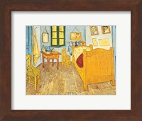 Framed Bedroom at Arles