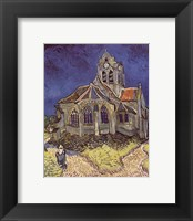 Framed Church at Auvers, c.1890