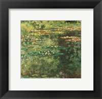 Framed Pool with Waterlilies, 1904