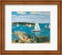 Framed Mahone Bay, 1911