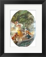 Boating Party Framed Print