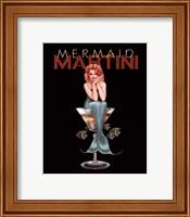 Framed Mermaid Martini
