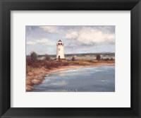 Framed Edgartown Lighthouse