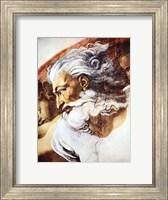 Framed Head of God