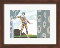 Framed Arlequin