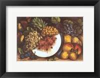 Framed Fruits Autumn Varieties