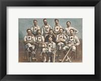 Framed Maple Leaf Base-Ball Club