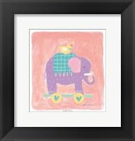 Elephant Toy Framed Print