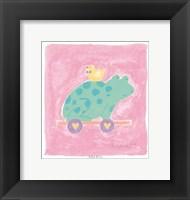 Frog Toy Framed Print