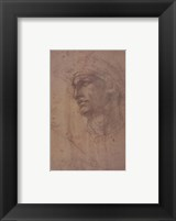 Framed Head of Adam