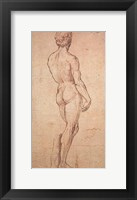 Framed Nude Study
