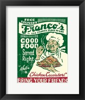 Framed Francos