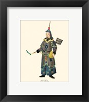 Framed Chinese Mandarin Figure III
