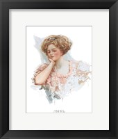 Fashion Modes - Bun Framed Print