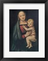 Framed Madonna Del Granduca