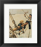 Framed Jolly Little Sailor
