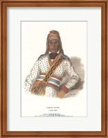 Framed Yoholo-Micco, a Creek Chief
