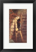 Framed Bookworm
