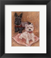 Framed Scotties