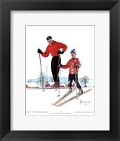 Framed Ski Skills