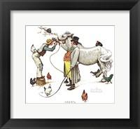 Framed Horse Trader