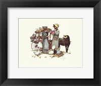 Country Pedlar Framed Print