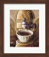 Framed Cappuccino Fresco