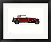 Framed Alfa Romeo 1930