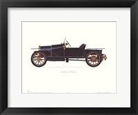 Framed Bugatti 1910