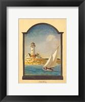 Framed Summer Sailing