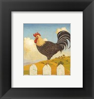 Framed Country Crowers II