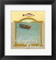 Framed Angler's Pond