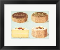 Framed Decorated Gateaux-Chocolate