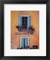 Framed Boulangerie