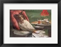 Framed Bachelor's Dog