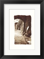 Framed Archway and Stone Jar