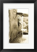 European Pump Framed Print