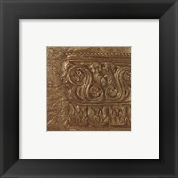 Framed Copper Capital Icon