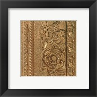 Framed Copper Banded Frieze