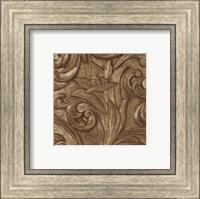Framed Copper Lily Frieze