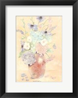 Summer Wildflowers I Framed Print