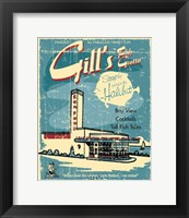 Fish Grotto Framed Print