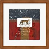 Framed Savannah Leopard