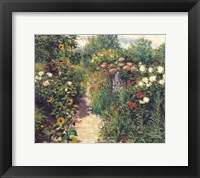 Framed Garden at Giverny