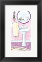 Candlelight & Roses Framed Print